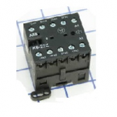 ABB K-6-40-E Миниконтактор вспом. 3A 4НО доп.конт. катушка 24V AC (GJH1211001R0401)