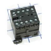 ABB K6-31-Z Миниконтактор вспом. 3A 400V, катушка 220V AC (GJH1211001R8310)