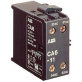 ABB CA6-11N Контакт дополнительный боковой установки для миниконтактров В6, В7 (GJL1201317R0004), , -1.00 р., , ABB, Контакторы