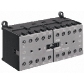 ABB VВ 6-30-10 Миниконтактор реверсивный 9A(16А)3НО сил.конт.1НО доп.конт. катушка 220V (GJL1211901R, , -1.00 р., , ABB, Контакторы