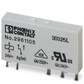 Phoenix Contact Одиночное реле REL-MR- 24DC/21 (2961105)