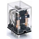 DEKraft Промежуточное реле 2 конт. с инд. LED 5А 12В AC ПР-102 (23217DEK)