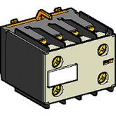 SE Telemecanique Контакт дополнительный фронтальный 2НО для конт.серии К (LA1KN20)