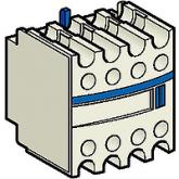 SE Telemecanique Контакт дополнительный фронтальный 1НО+3НЗ для конт.cерии D (LADN13)