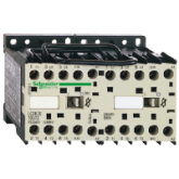 SE Telemecanique Контактор реверс. К 6A, 3НО сил.конт. 1НЗ доп.конт. катушка 24V DС (LP2K0601BD)