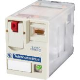 SE Промежуточное реле Мини 4ПК,светодиод, слаботочные контакты, 230V AC (RXM4GB2B7)