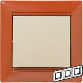 Legrand Valena Терра Рамка 3-ая гориз (770013), 770013, 195.83 р., 770013, Legrand, Розетки и выключатели