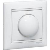 Legrand Valena Бел Светорегулятор поворотный 100-1000W для л/н, галог. ламп с обмоточным т-ром (7700