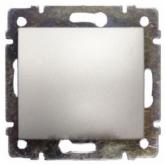 Legrand Valena Алюминий Выключатель 1-клавишный (770101), 770101, 222.24 р., 770101, Legrand, Розетки и выключатели
