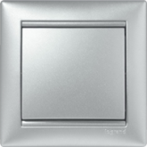 Legrand Valena Алюминий Рамка 1-ая (770151), 770151, 216.61 р., 770151, Legrand, Розетки и выключатели