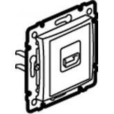 Legrand Valena Алюминий Розетка HDMI (770285), 770285, 4 345.50 р., 770285, Legrand, Розетки и выключатели