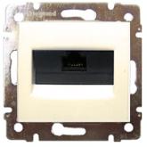 Legrand Valena Крем Розетка комп(RJ45) 1-ая 6 кат FTP, крепление на винтах (774132), 774132, 861.02 р., 774132, Legrand, Розетки и выключатели