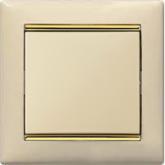 Legrand Valena Крем/Золото Рамка 1-ая (774151), 774151, 180.69 р., 774151, Legrand, Розетки и выключатели
