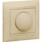 Legrand Valena Крем Светорегулятор поворотный 40-400W для ламп накаливания (вкл поворотом) (774161), 774161, 2 261.91 р., 774161, Legrand, Розетки и выключатели