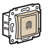 Legrand Valena Крем Розетка 2-ая USB (774170), 774170, 1 560.67 р., 774170, Legrand, Розетки и выключатели