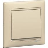 Legrand Valena Крем Выключатель кнопочный 1-клавишный (774311), 774311, 209.74 р., 774311, Legrand, Розетки и выключатели