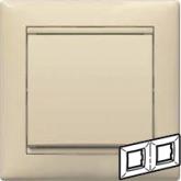 Legrand Valena Крем Рамка 2-ая гориз (774352), 774352, 106.13 р., 774352, Legrand, Розетки и выключатели