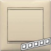 Legrand Valena Крем Рамка 5-ая гориз (774355), 774355, 755.33 р., 774355, Legrand, Розетки и выключатели
