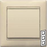 Legrand Valena Крем Рамка 3-ая верт (774357), 774357, 213.51 р., 774357, Legrand, Розетки и выключатели