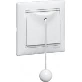 Legrand Valena Бел Выключатель кнопочный со шнурком (774419)