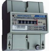 Электросчетчик СЕ101 R5 145 - 5(60)А - 230В, , 1 156.00 р., М00087, Энергомера, Однофазные электросчетчики