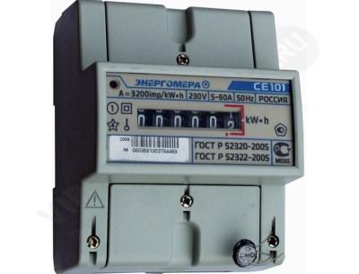 Электросчетчик СЕ101 R5 145М6 - 5(60)А - 230В