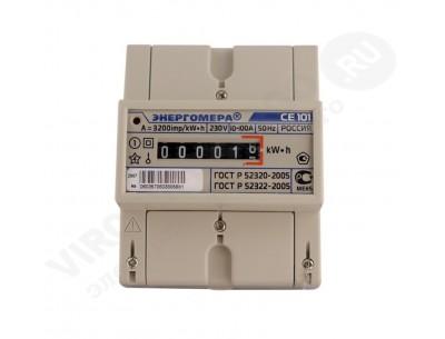 Электросчетчик СЕ101 R5 148 М6 - 5(100)А - 230В