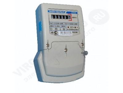 Электросчетчик СЕ101 S6 148М6- 10(100)А - 230В