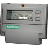 Однофазный электросчетчик  Меркурий 200.02 (двухтарифный), 200.02 2Т, 1 628.40 р., 200.02 , Меркурий, Однофазные электросчетчики
