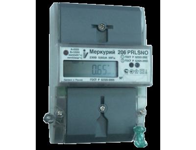 Электросчетчик Меркурий 206 N 5(60)А/230В многотарифный, ЖКИ