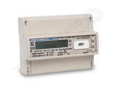 Электросчетчик СЕ303 R33 745-JAZ - 5(60)А - 3х230/400В ЖКИ