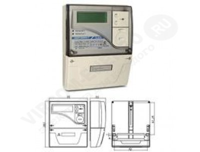 Электросчетчик СЕ303 S31 543-JAVZ - 5(10)А - 3х230/400В ЖКИ