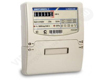 Электросчетчик ЦЭ 6803 В 230В 10(100)А 3ф.4пр.М7 Р32