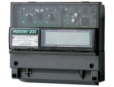 Электросчетчик Меркурий 231 AT-01 IrDA 5(60)А/380В