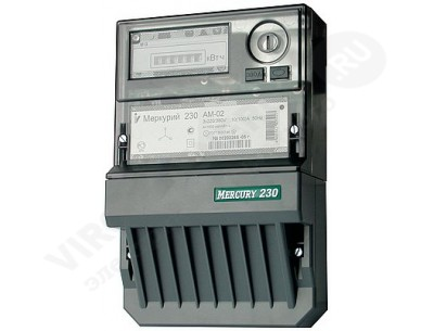 Электросчетчик Меркурий 230 ART-02 RN 10(100)А/380В