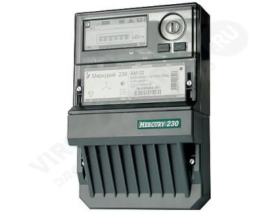 Электросчетчик Меркурий 230 ART-02 РQRSIN 10(100)А 220/380В