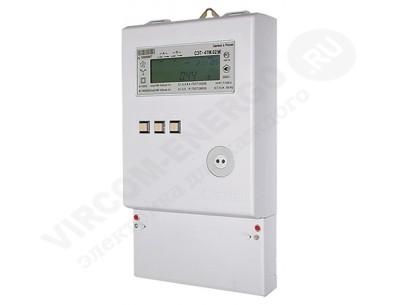 Электросчетчик СЭТ-4ТМ.02М.06 5(10)А 100В кл.т. 0,2S/0,5 1 интерфейс