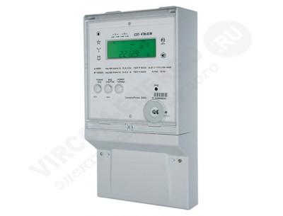 Электросчетчик СЭТ-4ТМ.03М.17 1(2)А 100В кл.т. 0,5S/1,0 2 интерфейса, РБП