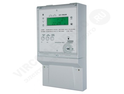 Электросчетчик СЭТ-4ТМ.03М.28 1(2)А 380В кл.т. 0,2S/0,5 2 интерфейса