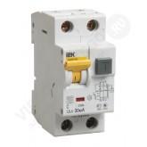 Дифференциальный автоматАВДТ 32 С-16 (IEK), , 987.00 р., М00790, ИЭК, Выключатели и рубильники