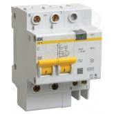 Дифференциальный автомат АД-12 2р 20/30 (IEK), , 735.00 р., М00858, ИЭК, Выключатели и рубильники