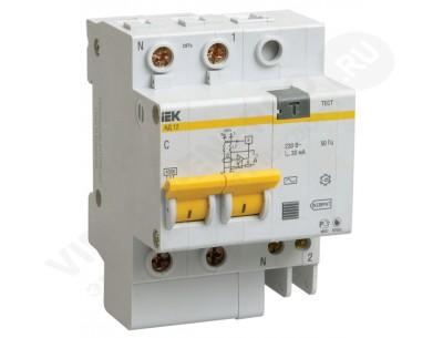 Дифференциальный автомат АД-12 2р 50/30 (IEK)