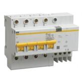 Дифференциальный автомат АД-14 4р 25/30 (IEK), , 1 053.00 р., М00866, ИЭК, Электрика. Разное
