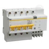Дифференциальный автомат АД-14 4р 40/30 (IEK), , 1 053.00 р., М00868, ИЭК, Выключатели и рубильники