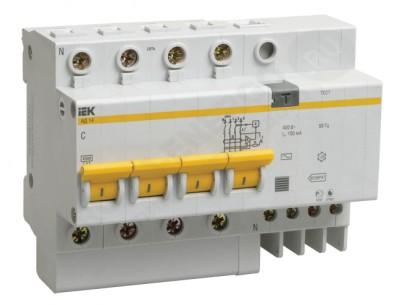 Дифференциальный автомат АД-14 4р 50/30 (IEK)