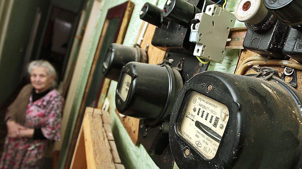 На фото: Старая схема расположения приборов учета в квартире