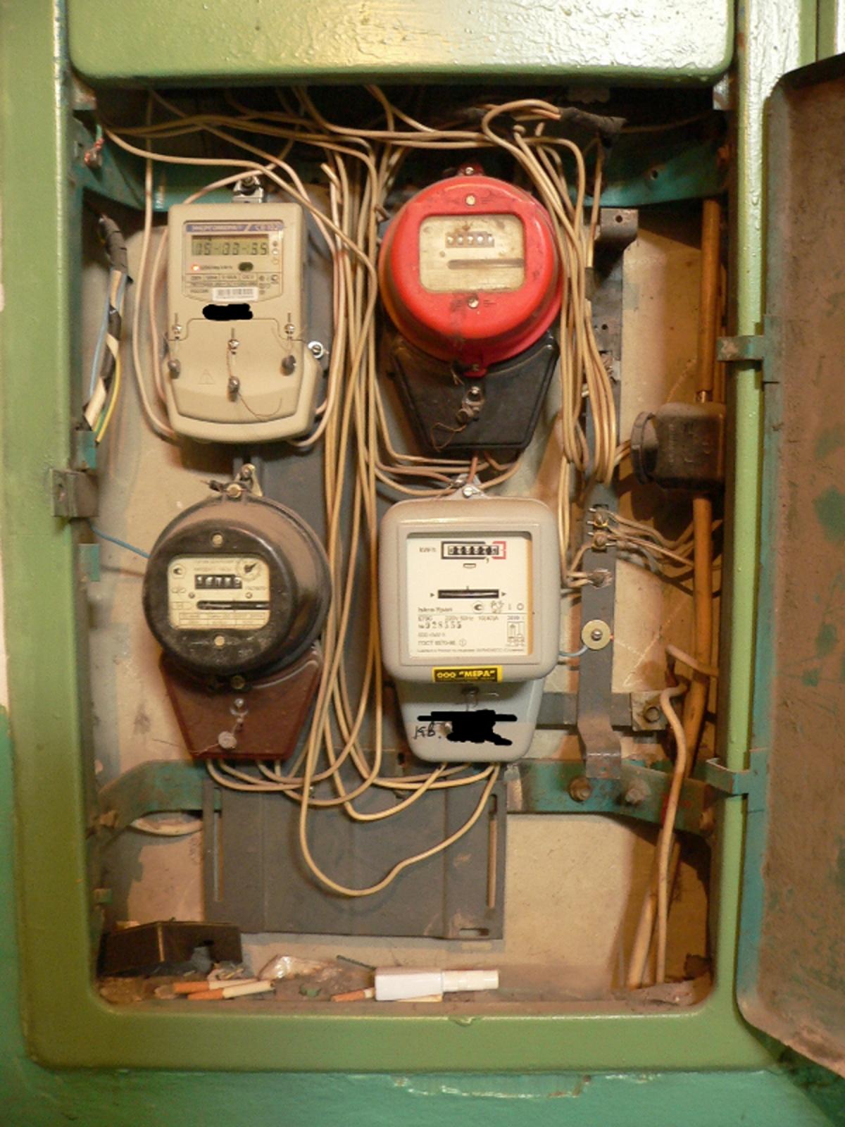 Замена электросчётчика в квартире своими руками